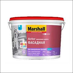 Краска в/э для фасада Marshall АКРИКОР BW (Белый)