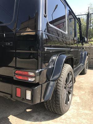 Накладки на задние фонари  для Mercedes G-class