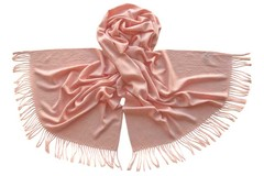 Палантин из вискозы розовый 5328