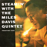 The Miles Davis Quintet ‎/ Steamin' With The Miles Davis Quintet (LP)