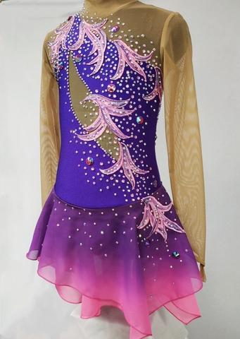 Платье на выступление для фигурного катания Селена