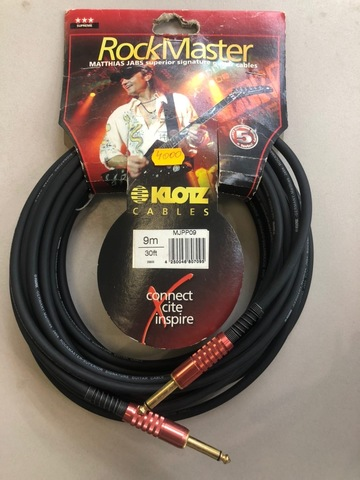KLOTZ MJPP09 - M. Jabs инструментальный кабель