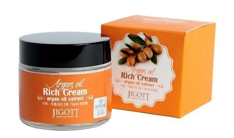 Jigott Насыщенный крем для лица с аргановым маслом , 70мл