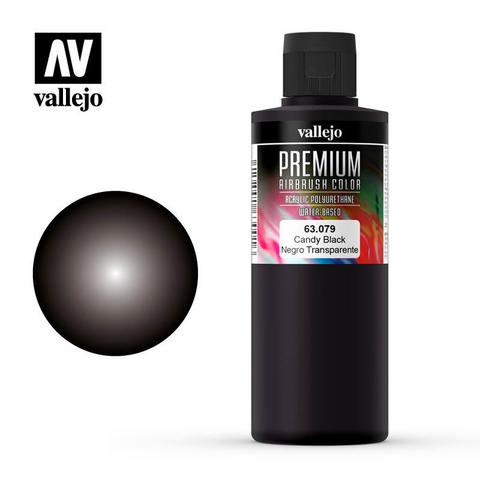 Vallejo Premium Color Candy Black