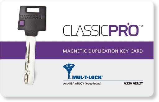 Mul-T-Lock Classic Pro Liblikaga 31x31 südamik CR