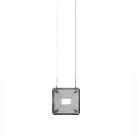 Подвесной светильник копия Hyperqube by Felix Monza (1 плафон, дымчатый)