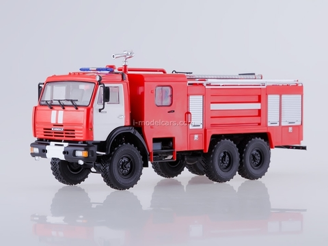 KAMAZ-43118 AC-5-40 Fire-fighting tanker 1:43 PAO KAMAZ