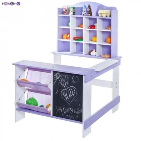 Игрушечный магазин Paremo цвет фиолетовый PRT116