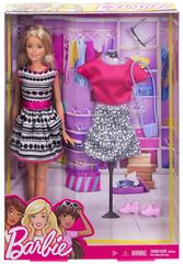 Кукла Barbie с набором одежды