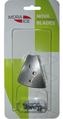 Ножи MORA ICE для ледобура Nova 110 мм скоростные (с болтами для крепления), 21054