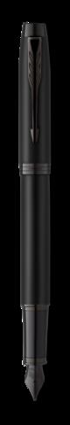 Перьевая ручка Parker IM Achromatic Matt Black F123
