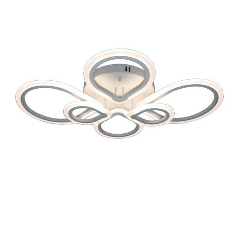 Потолочная светодиодная люстра CX-19089/4+2 WH