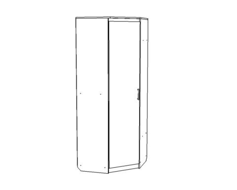 Шкаф ВЕНА угловой /803*2100*803/ левый