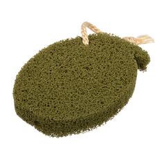Спонж для пилинга, с водорослями, 140х100х20 мм