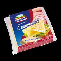 """Сыр плавленный """"Hochland"""" с ветчиной, 150 г"""