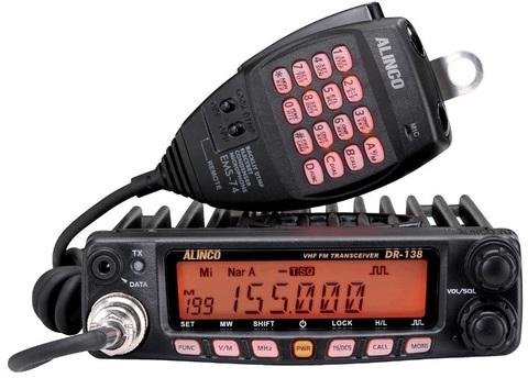 УКВ радиостанция ALINCO DR-138S