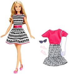 Кукла Barbie Блондинка Стильный гардероб