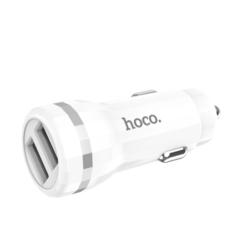 Z27 Staunch dual port in-car charger set(Micro)