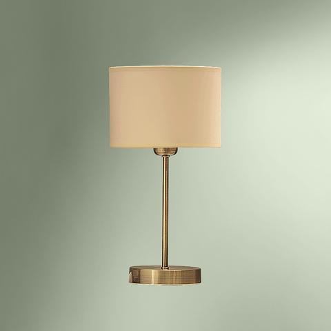 Настольная лампа с абажуром 180-516/13755М ЛИДЕР