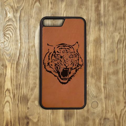 """Бампер """"Свирепый тигр"""", рыжий"""