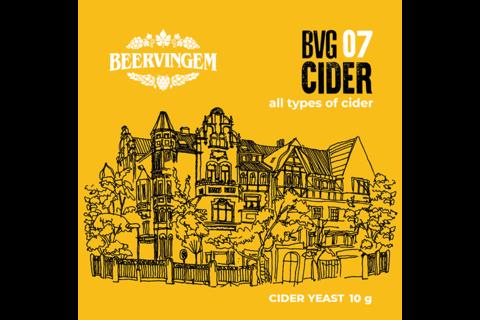 Дрожжи Beervingem для сидра Cider BVG-07, 10 г