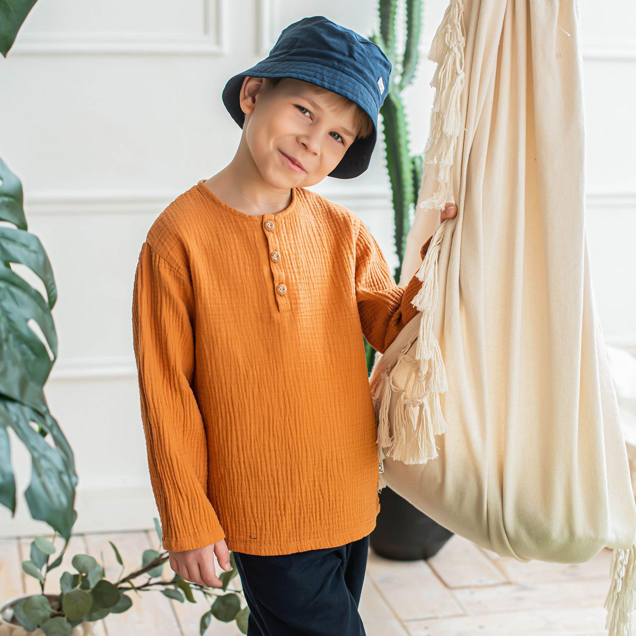 Рубашка муслиновая