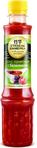 """Соус """"Стебель бамбука"""" томатный с базиликом 280 г"""