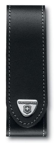 Чехол кожаный Victorinox, черный, для ножей RangerGrip 130 мм