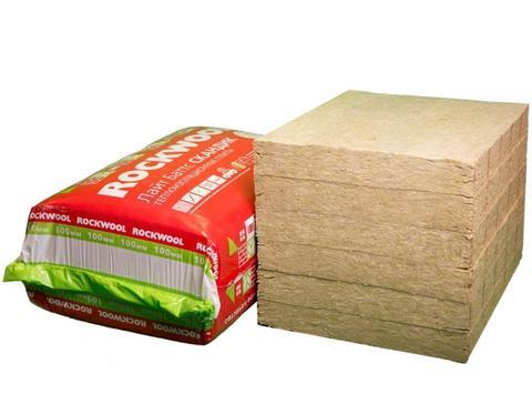 Утеплитель Rockwool (Роквул)Лайт Баттс Скандик (0,288м3) 6 плит х 100х800х600мм