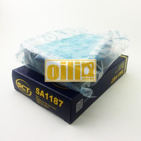 Фильтр салонный SCT SA1187 (Daewoo Lanos)