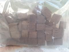 Кубики дубовые, сильный обжиг 500гр