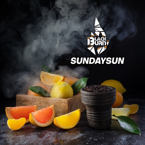 Табак Burn BLACK Sundaysun (Цитрусовый микс) 20 г