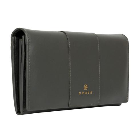 Женский кожаный большой кошелёк 20х11х2,5 см CROSS Kelly Wall Stone AC928288_1-18