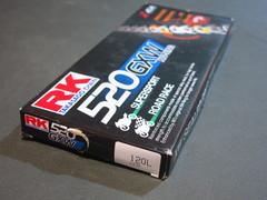Цепь RK Japan 520 GXW 120зв. CLF
