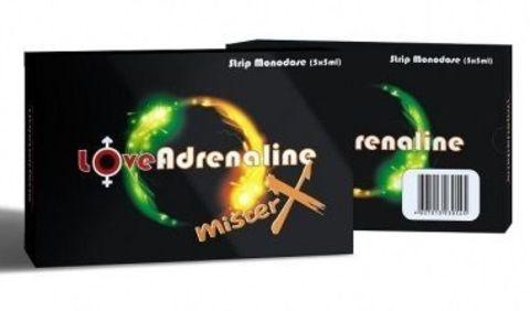 Возбуждающие капли для двоих LoveAdrenaline - 5 ампул (5 мл.)