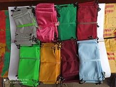 мешки однотонные цветные - 0.15$ (1уп-20штук)