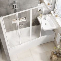 Акриловая ванна Ravak BeHappy II C991000000 150х75 R белая