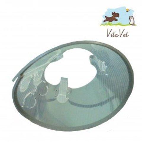 Воротник защитный на пластиковой застежке XXXL, 25 см