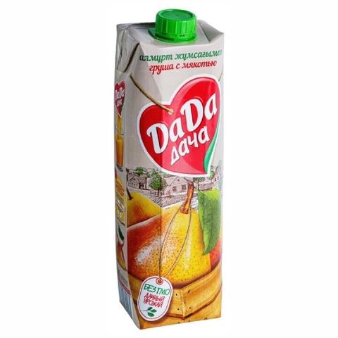 Нектар DA-DA Груша с мякотью б/сахара 0,95 л КАЗАХСТАН