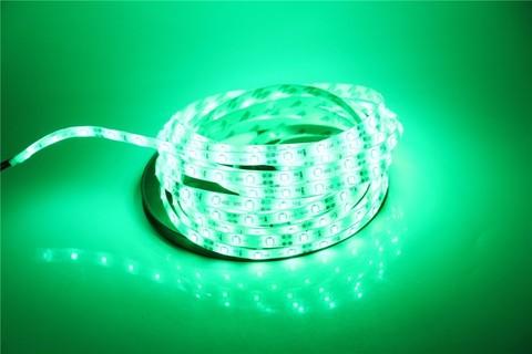 LED лента 5050 зеленая 5 метров