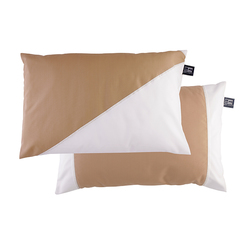 Cushion case set with filling / waterproof / beige