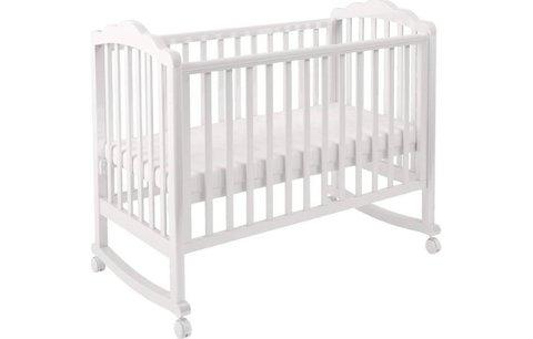 Кроватка детская Polini kids Classic 621, белый