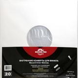 Внутренние Конверты Для Винила 12' (20 шт.)(Record Pro)