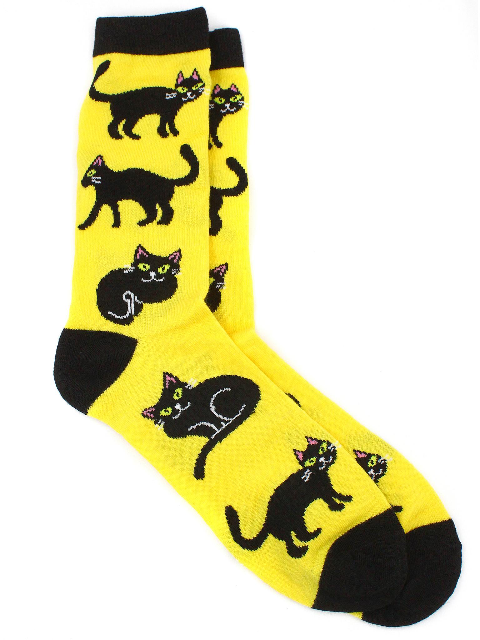 Носки р.37-44 Чёрный кот