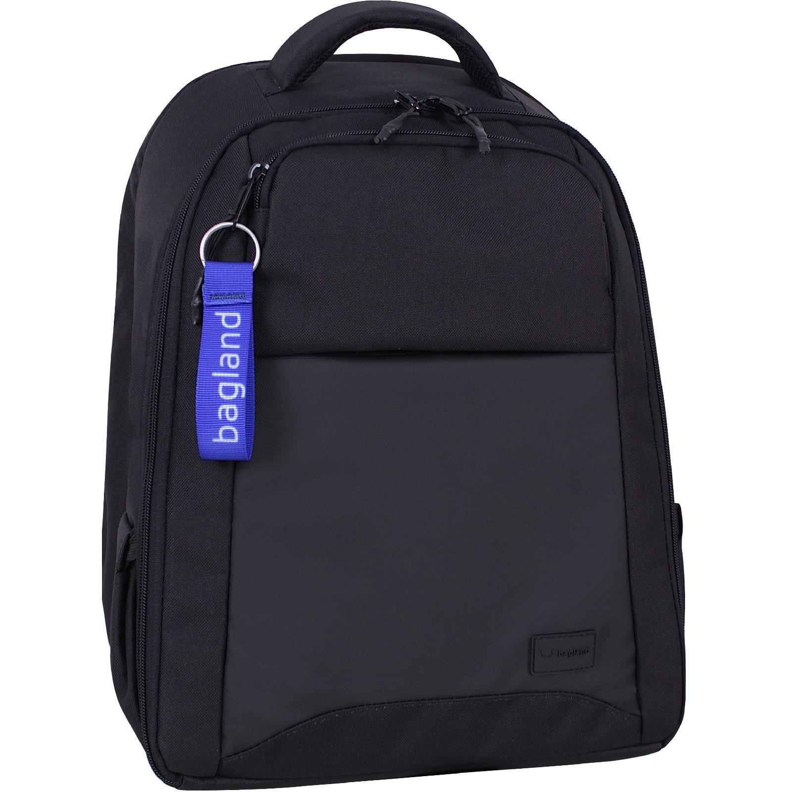 Мужские рюкзаки Рюкзак Bagland Бремен 23 л. Чёрный/кожзам (0016566) IMG_0136.JPG