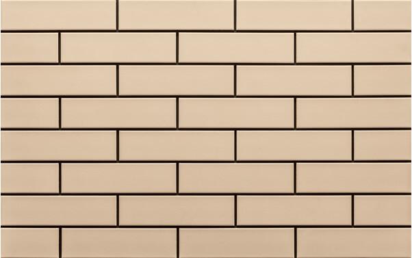 Cerrad Krem, gladka, 245x65x6.5 - Клинкерная плитка для фасада и внутренней отделки