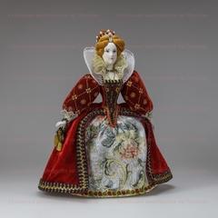 Сувенирная кукла Елизавета Английская