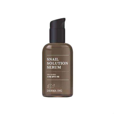 Сыворотка для лица с муцином улитки Derma ING Snail Solution Serum