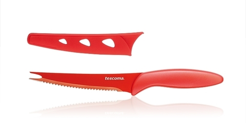 Нож для нарезки овощей с непристающим лезвием Tescoma PRESTO TONE 23 см