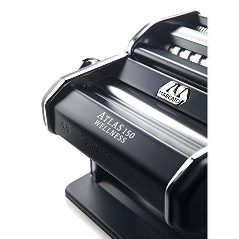 Итальянская машинка для раскатки теста и нарезания домашней лапши Маркато Атлас 150,фото